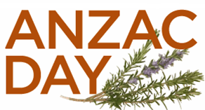 The ANZAC Day ceremony