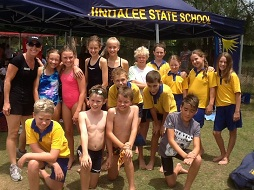 Jindalee State School Swimming Team